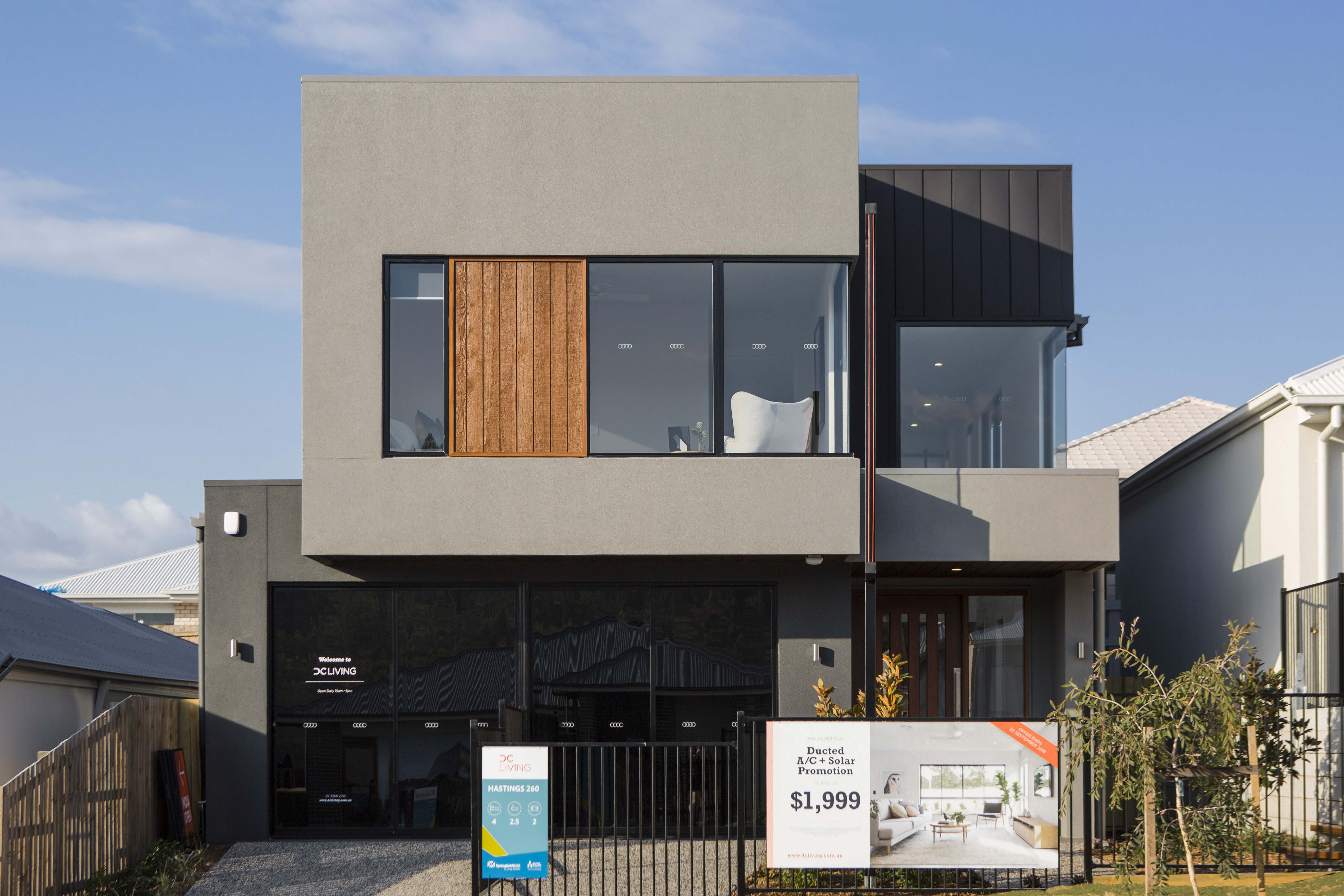 DC Living Rochedale display home facade