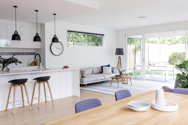 Queensland Home Builder DC Living - Living Room at Manly