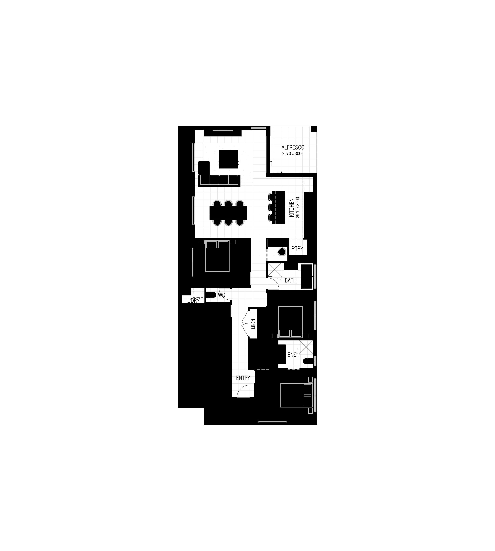 Culver 155 - Floor Plan