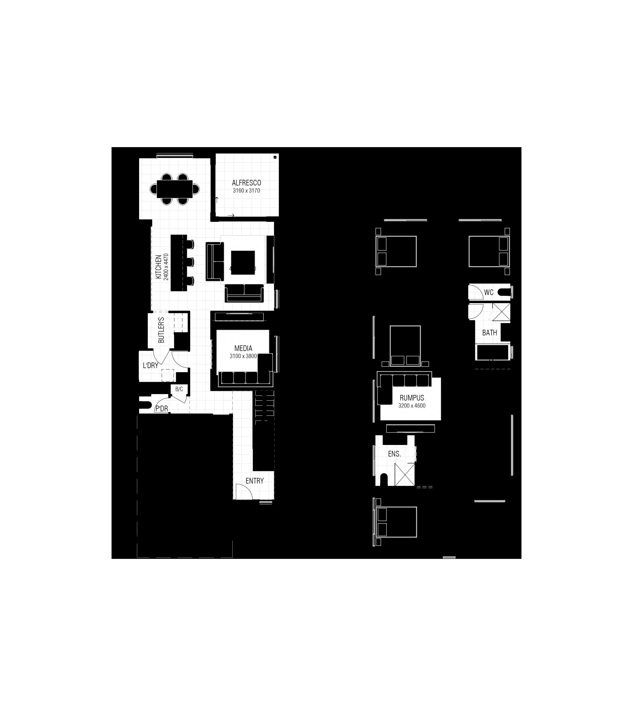 Santa Monica 255 - Floor Plan