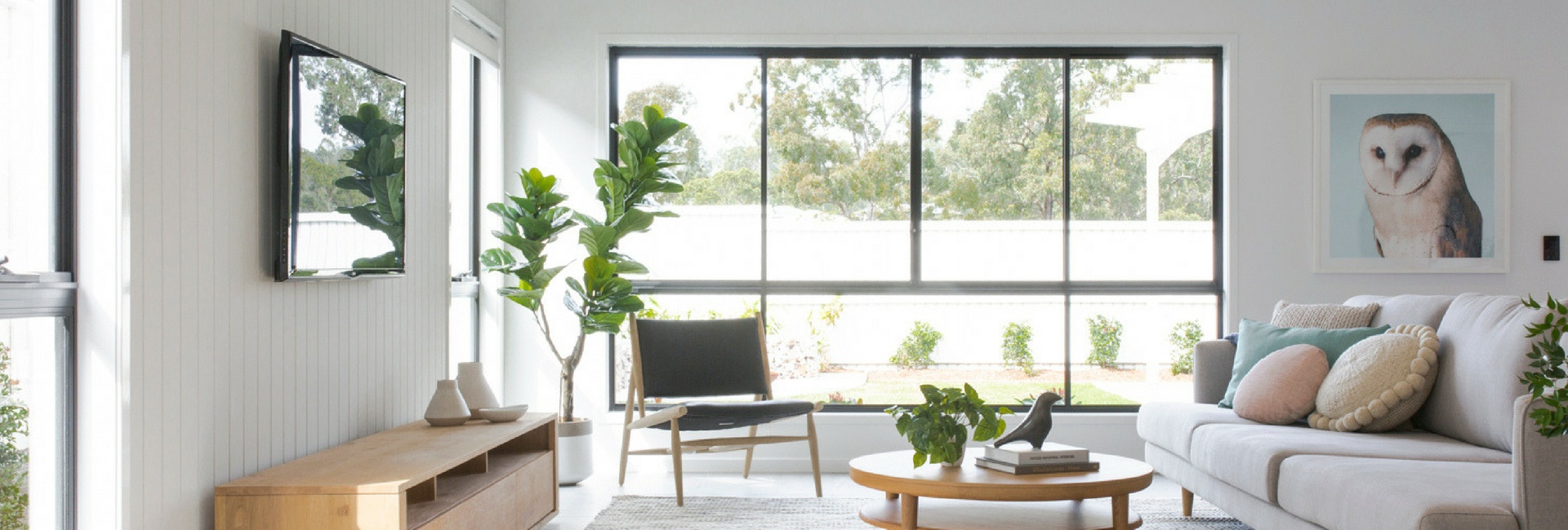 DC Living New Home Builders Brisbane Living Room
